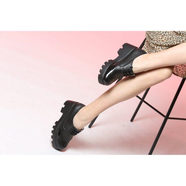 Туфли на платформе   4352