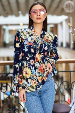 Блуза в цветочный принт | 31819