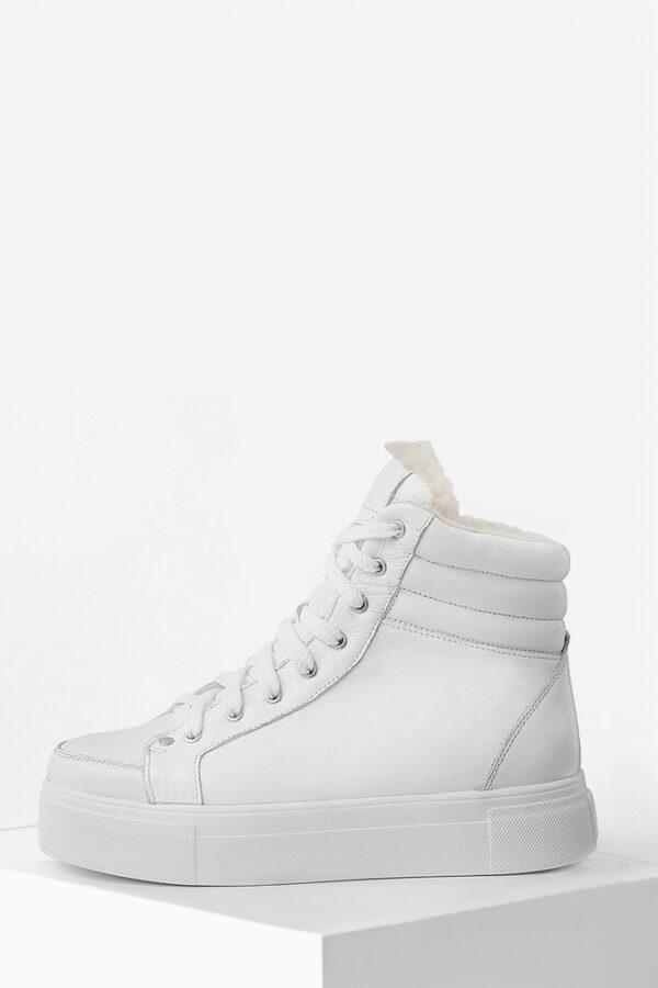 Зимові черевики білі | 37499