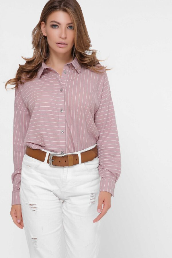 Рожева сорочка вільного крою   49597