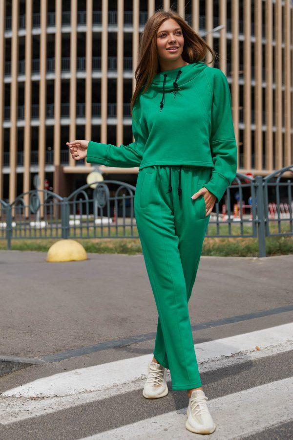 Прогулянковий костюм зелений   51268