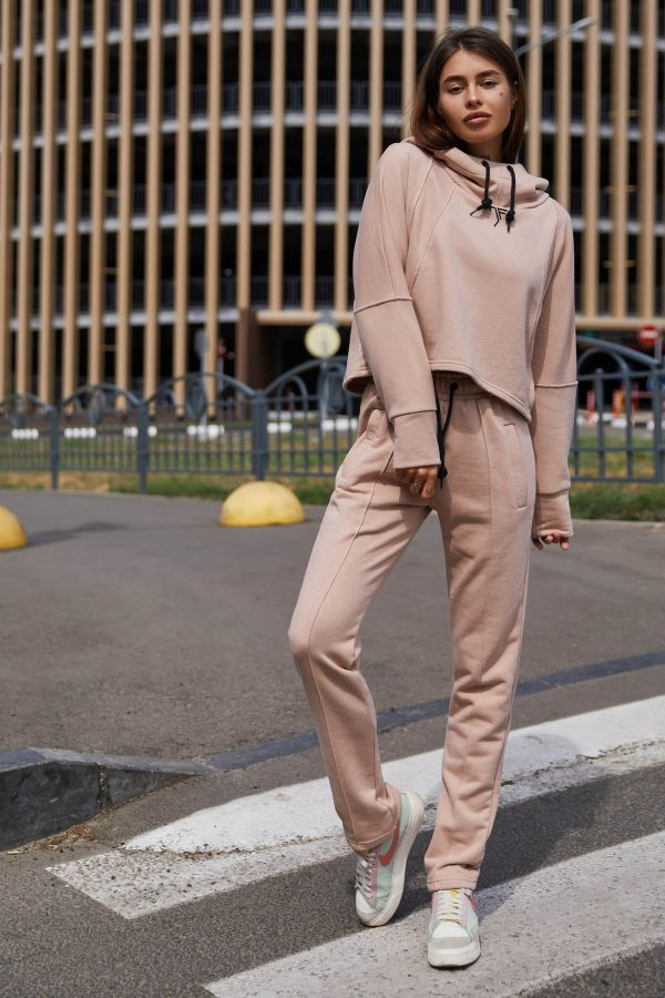 Прогулянковий костюм бежевий   51281