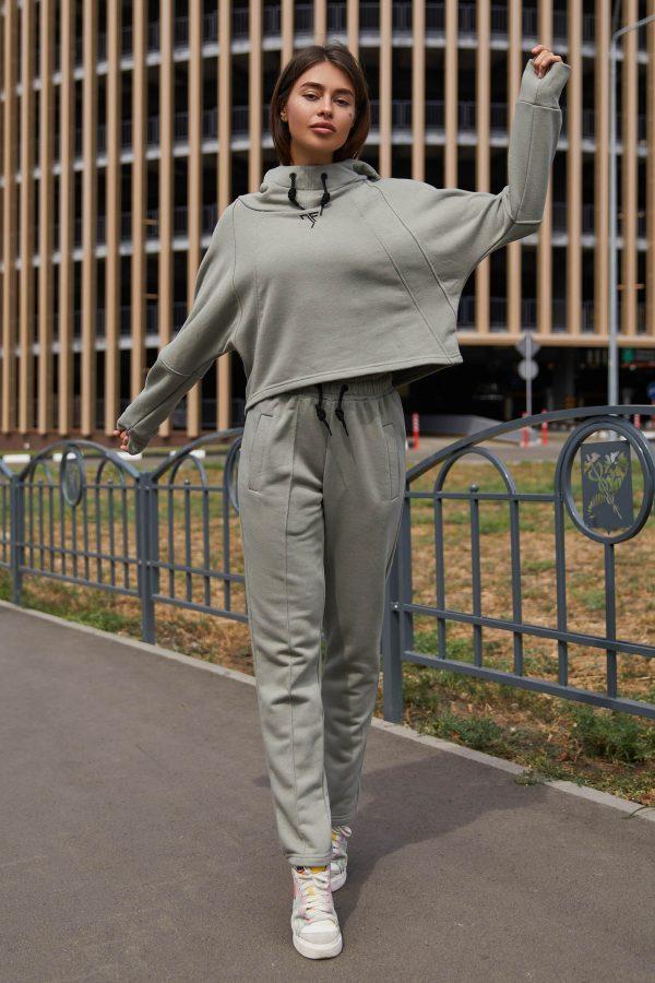 Прогулянковий костюм сірий   51292