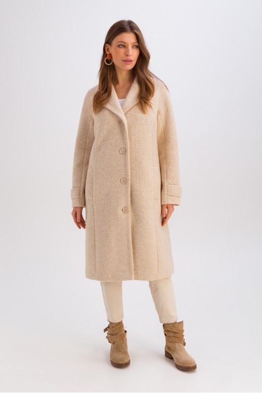 Демісезонне пальто світло-бежеве   51732